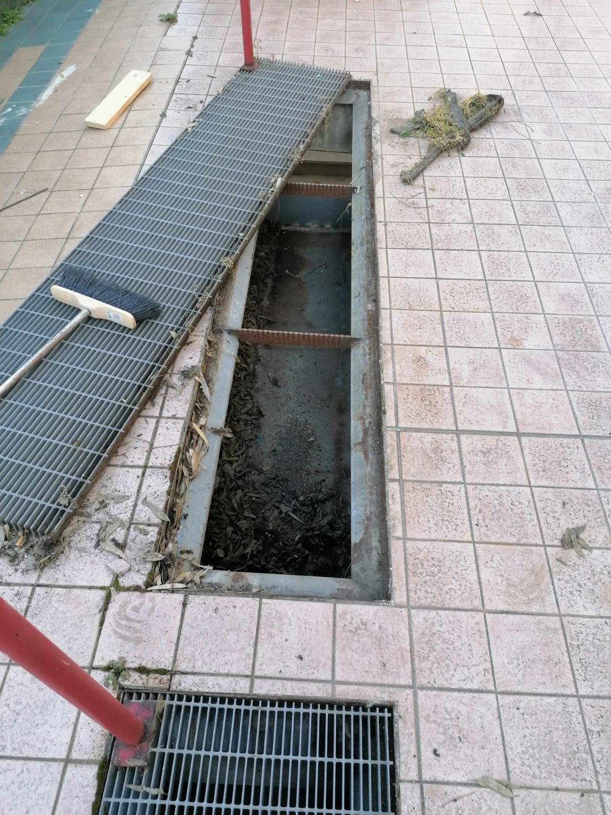 manutenzione-condomini-sistemazione-griglie-scolo-acque
