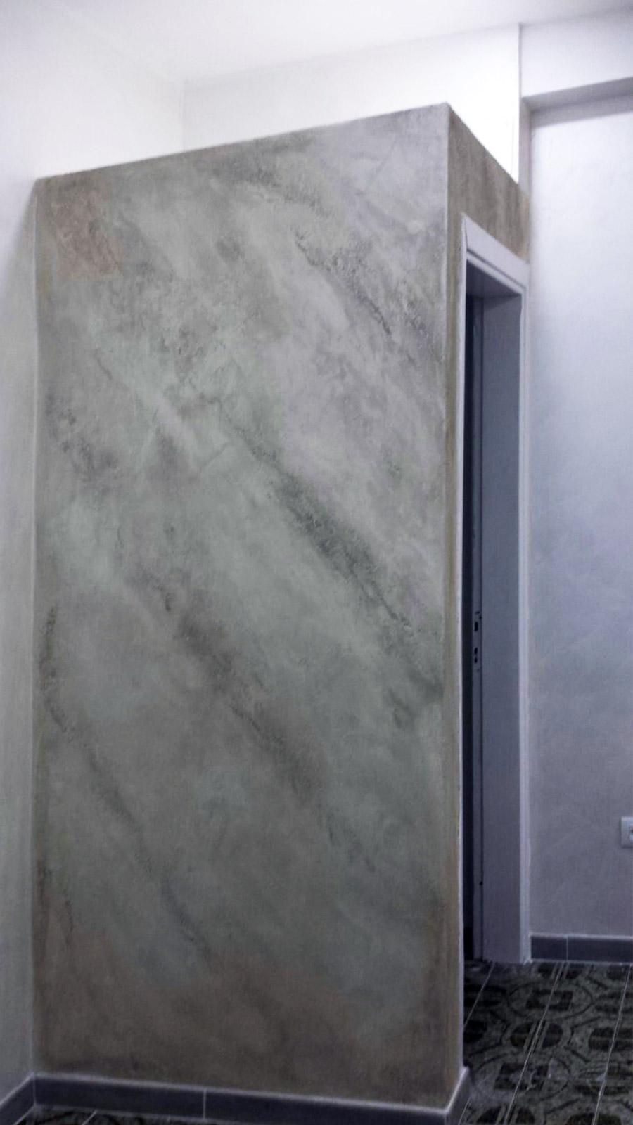 pitture-decorative-ristrutturazioni-edili-latina-effetto-granito-grigio
