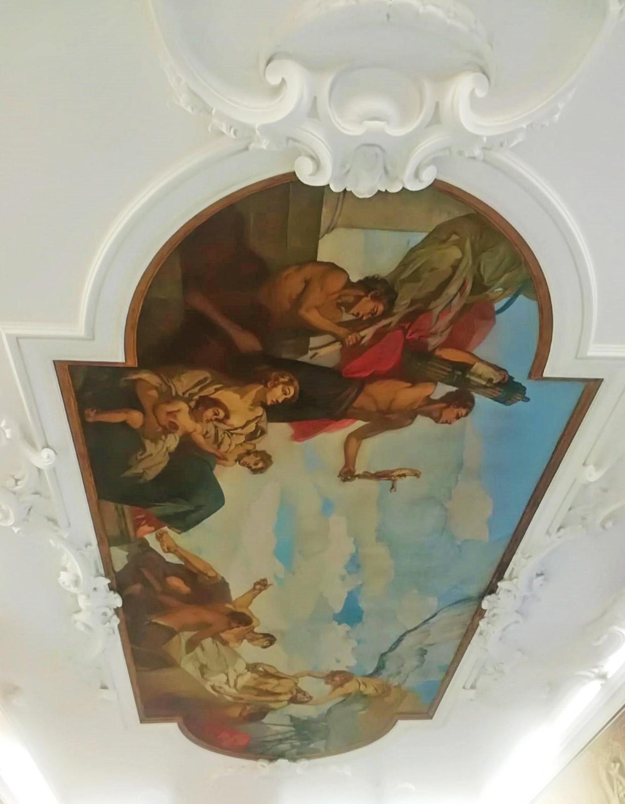 pitture-decorative-ristrutturazioni-edili-latina-soffitto-affresco